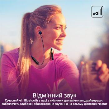Навушники Promate Bluetooth 5 Bali Blue (bali.blue)