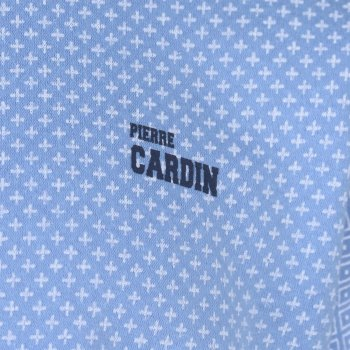 Світшот Pierre Cardin All Over Print Crew Sweat Mens блакитний