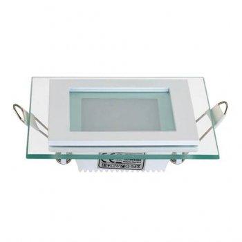 Світильник стельовий світлодіодний LED зі скляним декором Horoz Electric MARIA-6 6W 6400K 016-015-0006