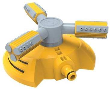 Дощівник/зрошувач Greenmill спринклерний триполюсний на підставці (GB2113C)