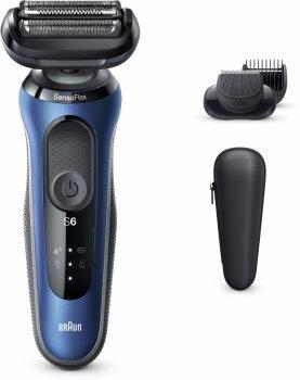Електробритва-тример BRAUN Series 6 60-B1500s BLUE/BLACK