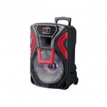 Портативна колонка Bluetooth у вигляді валізи AFG Rock Music RK-15030 Premium 60ВТ (46х40х75), чорна, акустика, акустична система, музичний центр, Bluetooth ( блютус), для будинку, дачі, кафе, природи, акумуляторна СИСТЕМА КАРАОКЕ З МІКРОФОНОМ