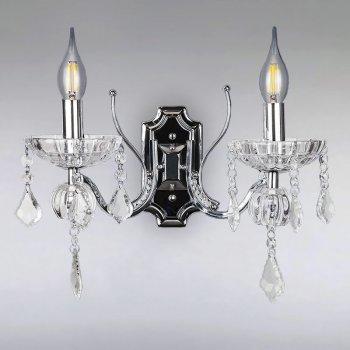 Бра Light House LS-15091-2 CH+W хром
