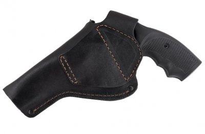 Кобура Beneks для Револьвер 4 поясна формована Шкіра Чорна