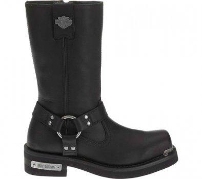Чоловічі чоботи Harley-Davidson Landon Motorcycle Boot Black Full Grain Leather (125163)