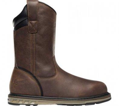 "Чоловічі чоботи Danner Steel Yard 11"" HW Wellington Steel Toe Boot 12562 Brown Full Grain Leather (149801)"