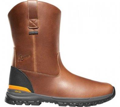 "Чоловічі чоботи Danner Stronghold 10"" Waterproof Wellington Boot Brown Full Grain Leather (144373)"