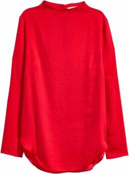 Блузка H&M 24200754 Красная