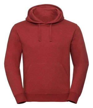 Толстовка Russell Men's Authentic Melange Hooded Sweat RBM Цегляний Червоний Меланж