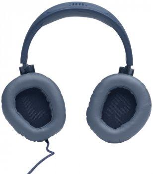 Навушники JBL Quantum 100 Blue (JBLQUANTUM100BLU)