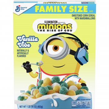 Сухой завтрак Minions Vanilla Cake with Marshmallows 453g