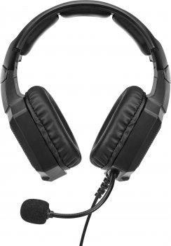 Наушники Aula Heleus Black Virtual 7.1 Sound (6948391236711)