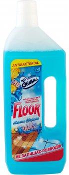 Упаковка средства для мытья универсального Floor Морская свежесть 750 мл х 12 шт (4820167004330)