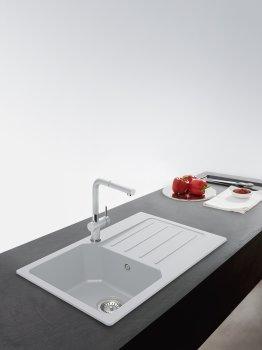 Кухонная мойка FRANKE City UCG 611-78 (114.0615.394) серый камень