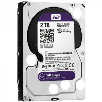 """Жорстку диск 3.5"""" 2TB WD (WD20PURZ)"""