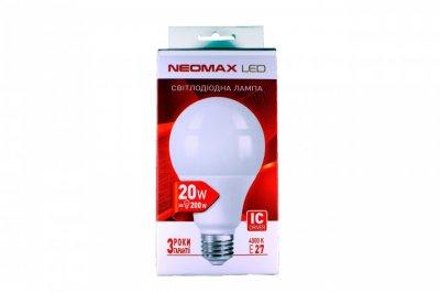 Лампа LED Neomax A80 20W 4000K