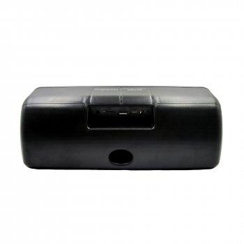 Портативна колонка блютуз з флешкою і радіо бездротова Wster WS-1618 1500mAh Bluetooth, USB, FM Чорна