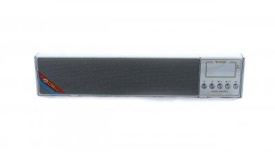 Портативная колонка блютуз с флешкой и радио беспроводная SPS WS-2015 6W Bluetooth, AUX, TF Белая