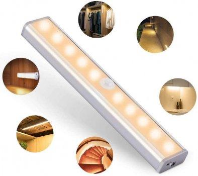 Бездротовий Світлодіодний світильник з датчиком руху Motion Brite LED