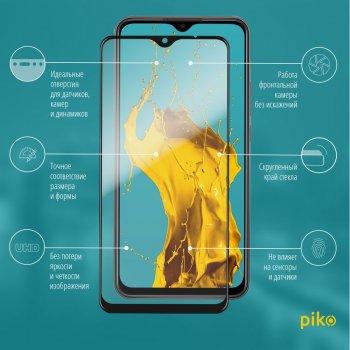 Захисне скло Piko Full Glue для Xiaomi Redmi 9 Black (1283126503023)