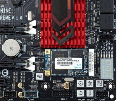 Apacer AST220 240GB mSATA SATAIII 3D NAND TLC (AP240GAST220-1)