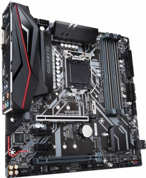 Мат. плата MB GigaByte Z390 M GAMING (s1151, Intel Z390, PCI-Ex16)