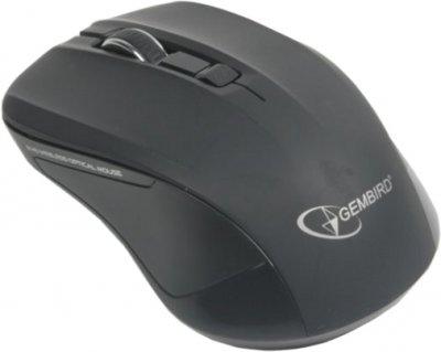 Мышь Gembird MUSW-201 беспроводная, Black USB
