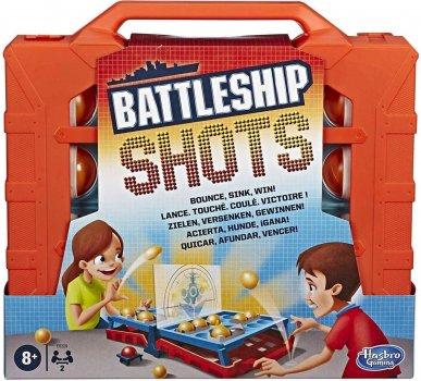 Настільна гра Hasbro Battleship Shots Морскій бій (E8229) (B07MTGXPTM)