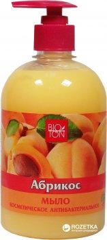 Упаковка мыла Bioton Cosmetics косметического антибактериального Абрикос 500 мл х 15 шт (4820026153001)