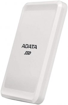 "ADATA SC685 500GB 2.5"" USB 3.2 Type-C 3D NAND TLC White (ASC685-500GU32G2-CWH) External"