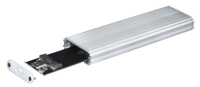 Внешний карман Chieftec для SSD M.2 2230/2242/2260/2280 - USB 3.1 Type-C Gen2 Grey (CEB-M2C)