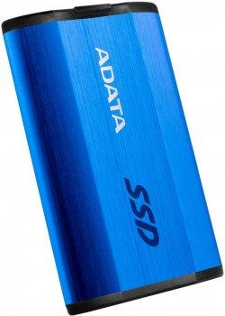 "ADATA SE800 512GB 2.5"" USB 3.2 Type-C Blue (ASE800-512GU32G2-CBL) External"