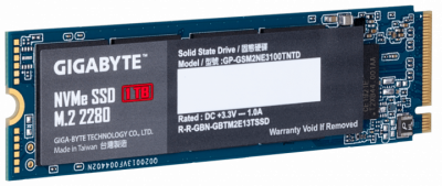 Gigabyte NVMe SSD 1TB M. 2 2280 (GP-GSM2NE3100TNTD) (WY36dnd-235846)