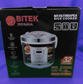 Мультиварка BITEK BT-00032 йогуртница 32 программы 6 л 1500W