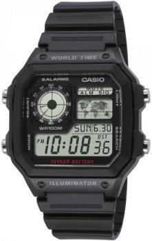 Чоловічі наручні годинники Casio AE-1200WH-1AVEF