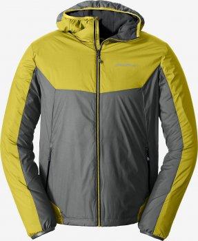 Куртка Eddie Bauer IgniteLite Flux 60 Hooded 0926RDYE Серо-желтая