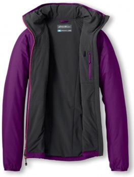 Куртка Eddie Bauer IgniteLite Flux 60 Hooded Jacket 1284PAN Фиолетовый