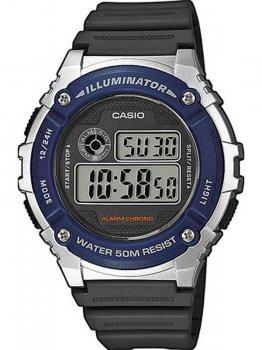 Чоловічий наручний годинник Casio W-216H-2AVEF