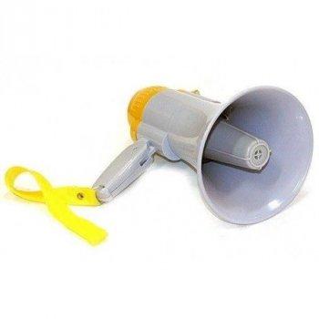 Мегафон рупор портативний гучномовець Спартак RD-8S переносний підсилювач звуку, дальність 200 м.