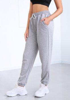 """Спортивні штани з високою талією Fashion Girl """"Matrix"""" сірий"""