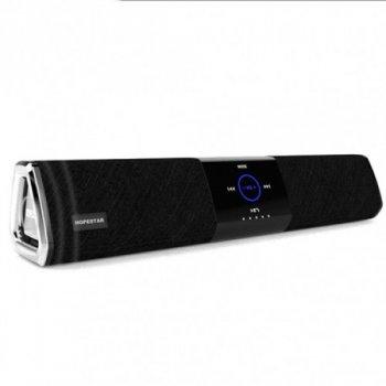 Портативна акустична Портативна бездротова Bluetooth (Блютуз) колонка Hopestar Stereo A3 3D Stereo Music Surround Чорна