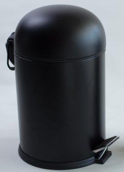 EFOR BON 5003S відро для сміття з педаллю 5л, колір чорний