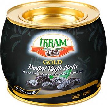 Оливки темные Ikram 1500 г (8696591064396)