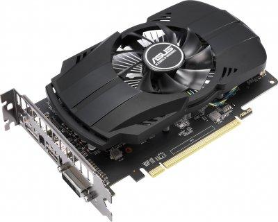 Asus PCI-Ex Radeon RX 550 Evo 4GB GDDR5 (128bit) (1183/6000) (DVI-D, HDMI, DisplayPort) (PH-RX550-4G-EVO)