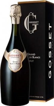Вино ігристе Gosset Grand Blanc de Blancs Brut Gosset біле брют 0.75 л 12% (3353210057164)