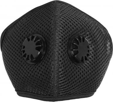 Набор XoKo Маска-респиратор на липучке с двумя клапанами+5 защитных фильтров Черная (XK-LPN-BK5) (9869201543638)