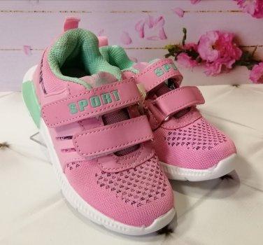 Кросівки для дівчинки Сонце 858-2 pink рожеві