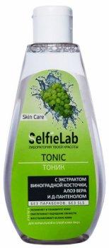 Тоник SelfieLab с экстрактом виноградной косточки, алоэ вера и Д-пантенолом 200 мл (4813360001169)