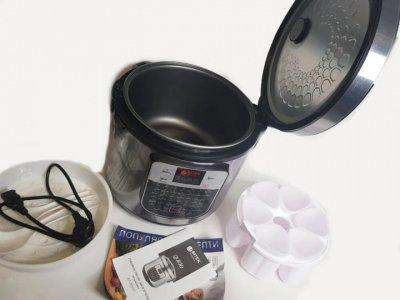 Мультиварка BITEK BT-00045 йогуртница 45 программ 6 л 1500W Silver
