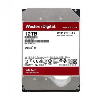 HDD SATA 12.0 TB WD Red NAS 5400rpm 256MB (WD120EFAX)